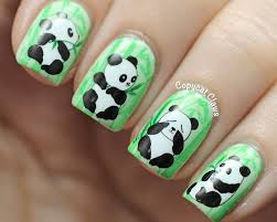 best 25 nail art panda ideas on pinterest art de panda sur
