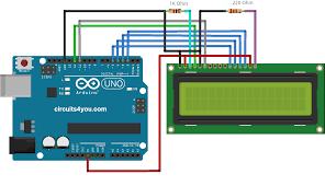 arduino lcd wiring diagram arduino wiring diagrams instruction