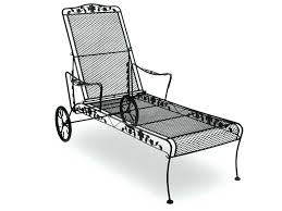 Chaise Lounge Patio Furniture Articles With Wrought Iron Patio Chaise Lounge Chairs Tag