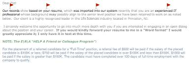 Technical Recruiter Sample Resume by An Open Letter To Technical Recruiters Ted Goas