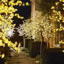 Fairy Light Tree by Garden Lighting Ideas Ideal Home