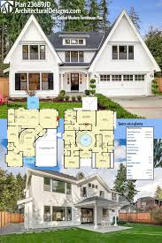 two farmhouse plans plan 23689jd two gabled modern farmhouse plan farmhouse plans