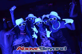 black light party ideas how to decorate for a black light party home design ideas gallery at