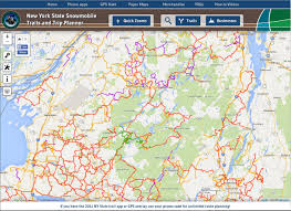 Adirondack Mountains Map Introduction Transportation In The Park Hamilton College