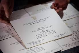 wedding invitations adelaide prince harry meghan markle s royal wedding invitations revealed