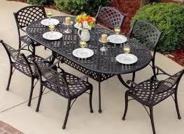 oval aluminum patio table aluminum patio table objectifsolidarite2017 org