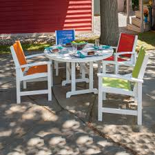 Outdoor Patio Furniture Dining Sets by Dining Room Polywood Outdoor Dining Set In Superior Polywood