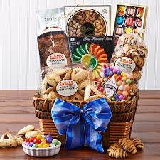 mishloach manot baskets zabar s purim basket kosher
