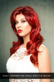 edgy red haircolor on big hair my style u0026 ideas pinterest