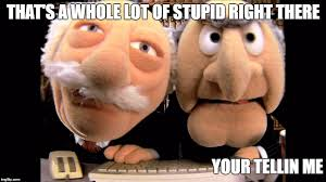 Waldorf And Statler Meme - image tagged in statler and waldorf the muppets imgflip