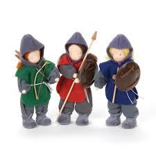 knights u0026 archer doll set in waldorf dolls u2013 nova natural toys