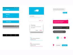 android material design ui kit sketch freebie download free