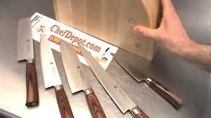 Tamahagane Kitchen Knives Layered Knives Youtube