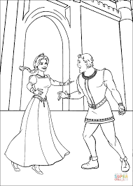 fiona and shrek human coloring page free printable coloring pages