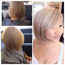 ash blonde with a hint of violet for a fun client color by jayden