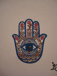 indian fusion hamsa tattoo by jimmyblaze on deviantart