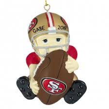 christmas gifts for 49ers fans san francisco 49ers ornaments gifts ornaments for you