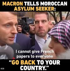 We Have To Go Back Meme - wow french president emmanuel macron tells moroccan asylum seeker