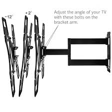 tv wall mount company yousave accessories slim cantilever tv wall mount bracket large