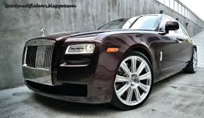 roll royce modified rolls royce ghost p93l sport cars