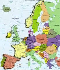 Europe Peninsulas Map Carte Europe Carte Europe Pinterest Voyage