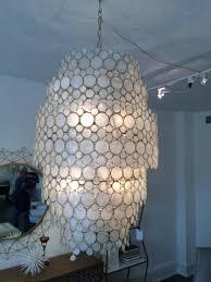 Gold Capiz Chandelier Lighting Beautiful Capiz Shell Chandelier For Home Lighting Ideas