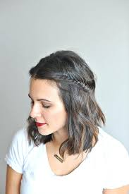 plait hairstyles for short hair unique braided hairstyles for short hair pinterest short hair
