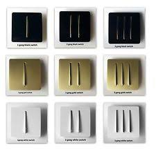 3 gang electrical home light switches ebay