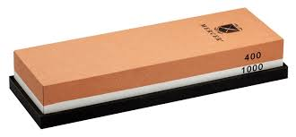 amazon com mercer culinary 400 1000 grit sharpening stone knife