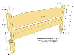 Plans To Build A Queen Size Platform Bed by Queen Size Bed Plan