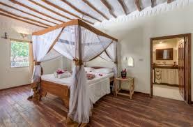 chambre d h es de charme hôtels de charme les pieds dans l eau zanzibar voyage