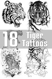 tiger designs the is a canvas