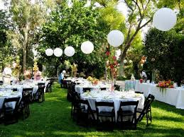 beautiful backyard wedding decorations decorations amys office