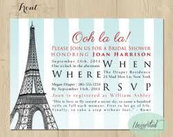 bridal shower invitation cards themed bridal shower