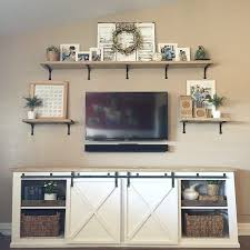 Hanging Wall Shelves Woodworking Plan by Best 25 Tv Wall Shelves Ideas On Pinterest Floating Tv Stand