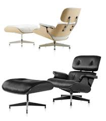 Charles Eames White Chair Design Ideas Charming Charles Eames Lounge Chair In Amazing Home Designing