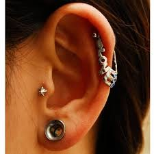 awesome cartilage earrings 25 best cartilage piercing images on cartilage
