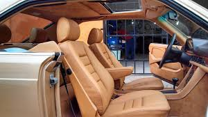 Car Seat Covers Melbourne Cheap Mercedes Sec 380 500 560 Beige Leather Seat Covers Upholstery W126