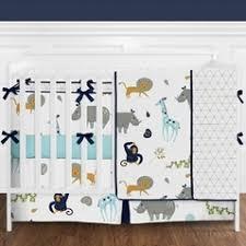 Crib Bedding Set With Bumper Baby Boy Bedding Sets