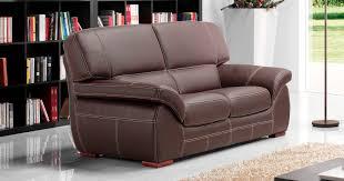 canapé 2 places en cuir canapé angelo personnalisable sur univers du cuir
