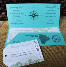 themed invitations turquoise purple and green travel themed boarding pass wedding