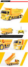 china factory plastic construction toy 4 channel 1 24 rc dump