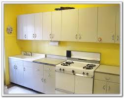 Vintage Metal Kitchen Cabinets Restoring Old Metal Kitchen Cabinets Cabinet Home Decorating