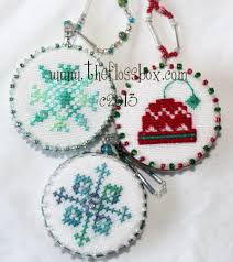 ornament finishing techniques cross stitch review