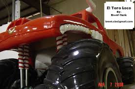 el toro loco monster truck videos el toro loco monster truck bed all wood
