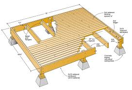 How To Make Blueprints For A House Get Free Do It Yourself Deck Plans