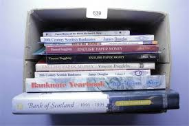 banknote yearbook collection of books ref banknotes and scotland banknote