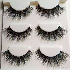 false eyelashes 3d natural long eye winged crisscross messy thick