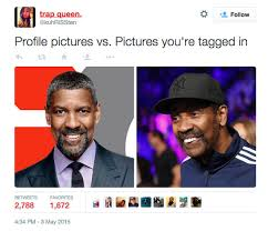 profile pictures vs pictures you re tagged in black twitter