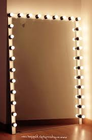 unique dressing room ideas with bulb around makeup mirrors lights